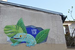 Louyz_5634 passage du Moulin des Prés Paris 13 (meuh1246) Tags: streetart paris paris13 butteauxcailles louyz passagedumoulindesprés lézard animaux