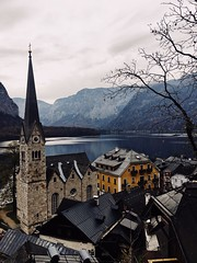 (Kristen Leary) Tags: hallstatt austria europe europetravel landscape landscapephotography fall autumn colors nature outdoors nikon nikond3300 nikonphotography world explore adventure travel photography photographer youngphotographer mountains town lake