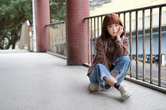 DSCF0853 (Orson Wang) Tags: 妙妙 繆琬瑜 台北 外拍 環南 環南公寓 富士 taipei taiwan