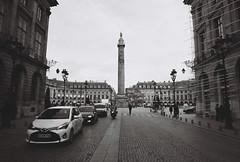 Place Vendome (leniners) Tags: 2017 france paris tour bw nb noir black white kodak trix 400 kodaktrix400 leica m6 leicam6