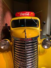 Coca Cola Classic (ahockley) Tags: advertising argentina atlanta beuenosaires chevrolet chevy classiccars cocacola coke georgia panelvan sign worldofcocacola