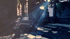 My song (Angel Neske) Tags: piano ruins sunlight angel loneliness sl