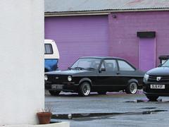 Ford Escort 1600 Sport (Andrew 2.8i) Tags: wales uk carspotting spotting street car cars streetspotting united kingdom road classic classics spot british fordofbritain saloon sedan mark 2 ii mk mk2 rally sport 1600 escort ford