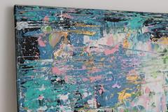 'Edge of the creek' acrylic painting, 50x50cm, canvas (Kinga Ogieglo Abstract Art) Tags: abstract art abstractart kingaogieglo abstractartforsale abstractpainting abstractartoncanvas canvasart abstractartist abstractexpressionism kingaogiegloart abstractacrylicpainting abstractartwork abstractartists fineart cultureart painting artworks artwork