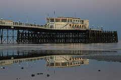 2018_05_06_0232 (EJ Bergin) Tags: sussex westsussex landscape worthing sunset beach sea seaside worthingpier seafront reflection southernpavillion