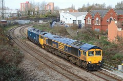 66749 + 50049 Dr Day's Curve (Westerleigh Westie) Tags: 66749 50049 dr days curve