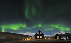 Iceland (a.penny) Tags: aurora borealis northern lights nordlichter iceland snæfellsjökull nikon d300 tokina 1116mm apenny polarlicht polar hellnar 116 atx pro dx explored night light