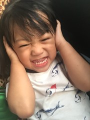 Herou making fun :) (ghostgirl_Annver) Tags: asia asian boy child kid brother son family portrait teeth