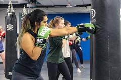 boxer (manalbukhari) Tags: box boxer boxing man men women woman girl boy punch bag punching gloves long hair focus blur blurry rule thirds