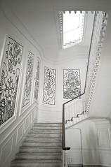 Musée Speedygraphito, Toulon, 12 Mars 2019. (Enzo R.) Tags: musée museum white blanc architecture escaliers stairs france provence toulon art artist artistic contrast contraste