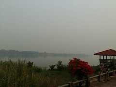 Smoky morning on the Mekong 5 (SierraSunrise) Tags: esarn haze isaan mekong mekongriver nongkhai phonphisai pollution rivers skies sky smog smoke thailand