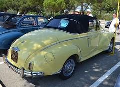 PEUGEOT 203 Cabriolet - 1955 (SASSAchris) Tags: peugeot 203 cabriolet 2 tours dhorloge castellet circuit ricard voiture française lion sochaux
