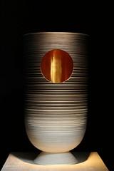 Hypnose (Mareine.hr) Tags: vase musée céramique art design canon80d 50mm lines light hole hypnosis shadows
