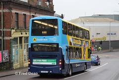 Dublin Bus GT159 (132D11611). (Fred Dean Jnr) Tags: dublinbusyellowbluelivery busathacliath dublinbus pboro gt159 132d11611 summerhillnorthcork january2019 volvo b9tl wright wrightbus eclipse gemini2 lowemissionbustrial