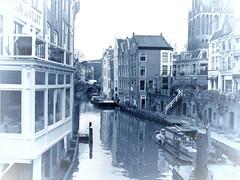 utrecht (gerben more) Tags: oudegracht utrecht water canal houses city