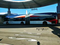 956 100 PRIMO-MCTC (transit addict 327) Tags: viametropolitantransit bus nabi northamericanbusindustries 60brt cng compressednaturalgas busrapidtransit brt primo articulated centroplaza lg g6 phonecamera 2018
