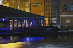 The Wharf, Walsall 23/11/2018 (Gary S. Crutchley) Tags: uk great britain england united kingdom urban town townscape walsall walsallflickr walsallweb black country blackcountry staffordshire staffs west midlands westmidlands nikon d800 history heritage local night shot nightshot nightphoto nightphotograph image nightimage nightscape time after dark long exposure evening travel street slow shutter raw canal navigation cut inland waterway bcn narrowboat lock junction wyrley and essington canalscape scape wharf bar