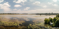Lake at Angkor (Lцdо\/іс) Tags: angkor nature lake cambodge cambodia panorama panoramique panoramic lac clouds nuage wild siemreap asia asian asie asiatique voyage infinity water bleu sky trip discover landscape natural place lцdоіс