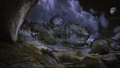 Monsanto, camino al Castillo, lugar mágico (Xálima Miriel) Tags: monsanto granito edadmedia templarios monsantoportugal castillo aldea turismo xálimamiriel xálima worldsbestnikonshot nikon