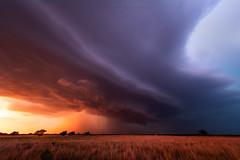 Ringwood (Mike Olbinski Photography) Tags: 20180529 canon1124mmf4 canon5dsr cleosprings hail oklahoma rain ringwood shelfcloud stormchasing sunset supercells