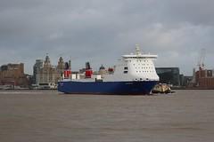 Stena Forecaster (Das Boot 160) Tags: stenaforecaster stena roro ferries ferry ships sea ship river rivermersey port docks docking dock boat boats birkenhead twelvequays maritime mersey merseyshipping
