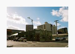 Downtown San Jose | 35mm Kodak UltraMax 400 (ForayIntoFilm) Tags: color minolta srt101 35mmfilm analog film filmisnotdead istillshootfilm bayarea california kodak ultramax sanjose downtown gemini sky building road architecture