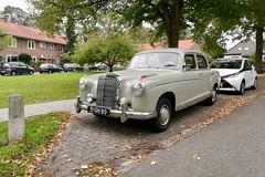 1957 Mercedes-Benz 220 S (Michiel2005) Tags: 220s bolhoed car auto mercedes mercedesbenz mb nederland netherlands holland