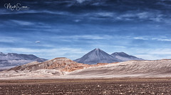 Breathtaking Atacama scenery (marko.erman) Tags: desert atacama chile salt dry volcanos minerals sun landscape horizon white travel outside ciel eau paysage sable volcano licancabur valledelaluna saltformations crystallized mineral geology sony isolated outdoor nopeople