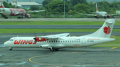 PK-WGO (GSairpics) Tags: pkwgo atr atr72 at72 wingsabadiair wings lionair lionairgroup lionparcelcom bali indonesia aircraft aeroplane airplane aviation transport travel airline airliner commuter dps wadd denpasarairport ngurahraiinternationalairport