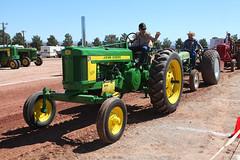 John Deere 520 (twm1340) Tags: 2019 az arizona flywheelers antique tractor show cottonwood