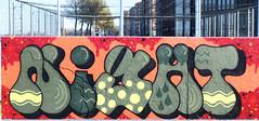 Graffiti in Amsterdam (wojofoto) Tags: amsterdam graffiti streetart nederland netherland holland wojofoto wolfgangjosten javaeiland night