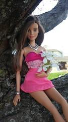 Botanical Beauty (Tee-Ah-Nah) Tags: flowers tree barbie doll outside spring crabapple