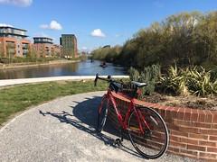 River Aire, Leeds (VAGDave) Tags: leeds river aire quay calder navigation boardman roadsport