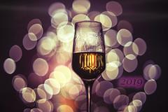 Cheers! (petrapetruta) Tags: glass fireworks bokeh colorful