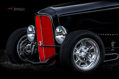 Red Hot Grill (Neil Banich Photography) Tags: 1932ford neilbanichphotograhy car artcool images 1932 automobile ford grill hood hotrods vintage