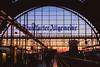 Sunset at Central Station (oliver.nispel) Tags: frankfurt hesse germany de sunset transportation city urban urbex sundown sun sunlight railway station mainhattan frankfurtammain colors