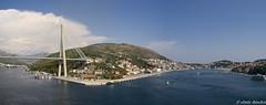 Ragusa (Dubrovnik) y puente Franjo Tudman (jesussanchez95) Tags: ragusa dubrovnik puentefranjotudman croacia panorámica panoramic bridge croatia landscape paisaje paisajeurbano