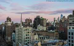 Sunrise (20190115-DSC05040) (Michael.Lee.Pics.NYC) Tags: newyork sunrise eastvillage hudsonyards architecture cityscape skyline rooftops gracechurch sky clouds sony a7rm2 fe24105mmf4g
