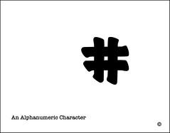 @ (Bob R.L. Evans) Tags: alphanumericcharacter stylish whitespace blackonwhite composition unusual defamiliarization simple irreverent symbol minimalism avantgarde dada