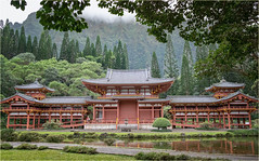 Valley of the Temples (marneejill) Tags: valley temples honolulu oahu buddhist scenic green trees