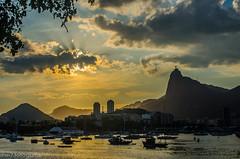 DSC_0314 (matheus.macedo) Tags: rj riodejaneiro rio brasil brazil urca muretadaurca praia cristo sunset pordosol