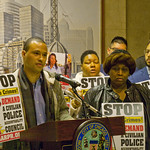David Earl Williams the Third for the 48th Ward City of Chicago Aldermanic Candidates Press Conference to Support Civilian Police Accountability Council Chicago Illinois 1-9-19 5563 thumbnail