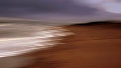 ICM 003 (PeskyMesky) Tags: aberdeen aberdeenshire blackdogbeach blackdog scotland icm intentionalcameramovement water movement blured sand canon canon5d eos