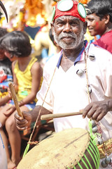 Santal Dance (Canon EOS 1300D) Tags: instrument indian traditional tribal culture drum music hand rhythm performance art sound musical man drummer play musician beat dance motion background style wood festival band skin wooden instruments hit shaman tradition dancer player costume artistic old handdrum leather object equipment closeup people fun kolkata westbengal india santal