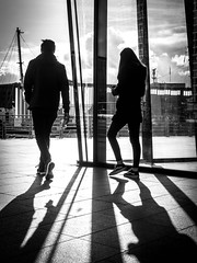 BRYAN_20181030_IMG_0383 (stephenbryan825) Tags: liverpool mannisland merseyside angles backlighting building dramaticlight floor graphic ground intothelight lines pavement people selects shadows
