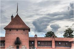 242- UN TORREÓN  DEL CASTILLO DE TRAKAI- VILNIUS - LITUANIA - (--MARCO POLO--) Tags: castillos edificios arquitectura rincones hdr curiosidades