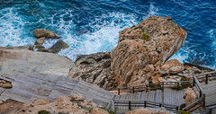 365-2019-02-11 (AGONZA) Tags: mar mediterráneo rocas agua azul espuma ángel color solarium cercadecasa mallorca baleares