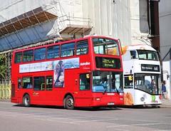 Metroline VP498 LX53LXP - Go Ahead London Central LT669 LTZ1669 - Waitrose (Waterford_Man) Tags: lx53lxp vp498 plaxtons metroline lt669 ltz1669 hybrid wrightbus goaheadlondoncentral