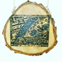 The Flammarion Engraving Wall Art Engraved Handmade Wood Wall Hanging #FlatEarth Retrosheep.com (RetrosheepCharms) Tags: retrosheep handmade gifts deals giftideas