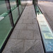 NEW VINYL WALKWAY WHICH WAS DIFFICULT TO PHOTOGRAPH BECAUSE OF REFLECTIONS [WINDMILL LANE DUBLIN]-149717